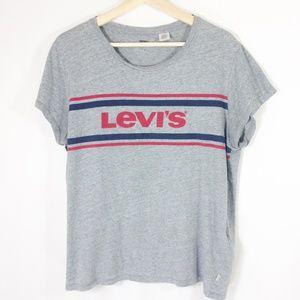 Levi's Short Sleeve Grey T Shirt XL